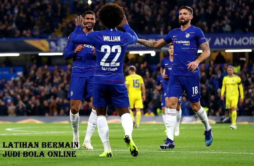 Latihan Bermain Judi Bola Online